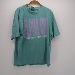 Comfort Colors Alpha Chi Short Sleeve Tee T-Shirt